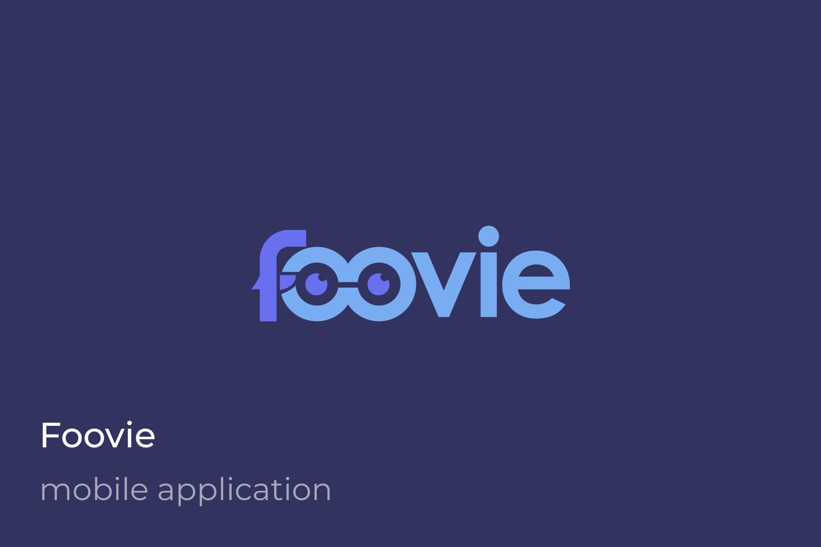 Foovie iOS Hyprid App Android