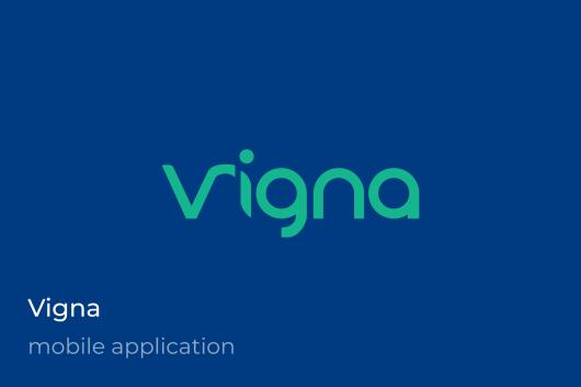 Vigna Mobile App Hybrid iOs Android iOnic